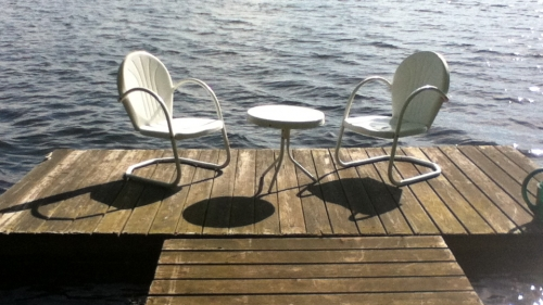 Chairs on Deck
