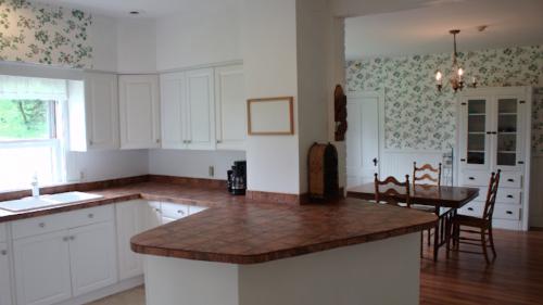 lyme house kitchen