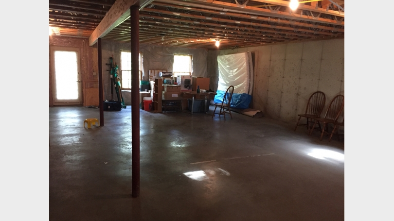 16 Camp Brook Drive basement