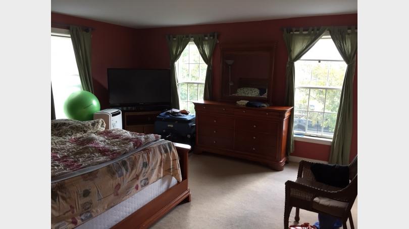 16 Camp Brook Drive master bedroom