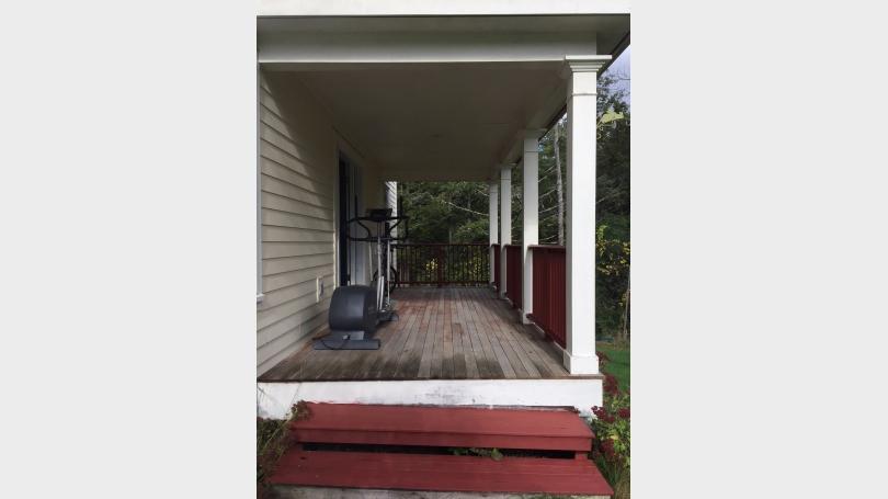 16 Camp Brook Drive porch