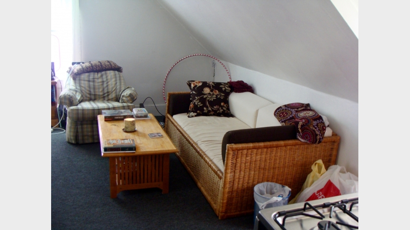 Sofa/day bed and one armchair
