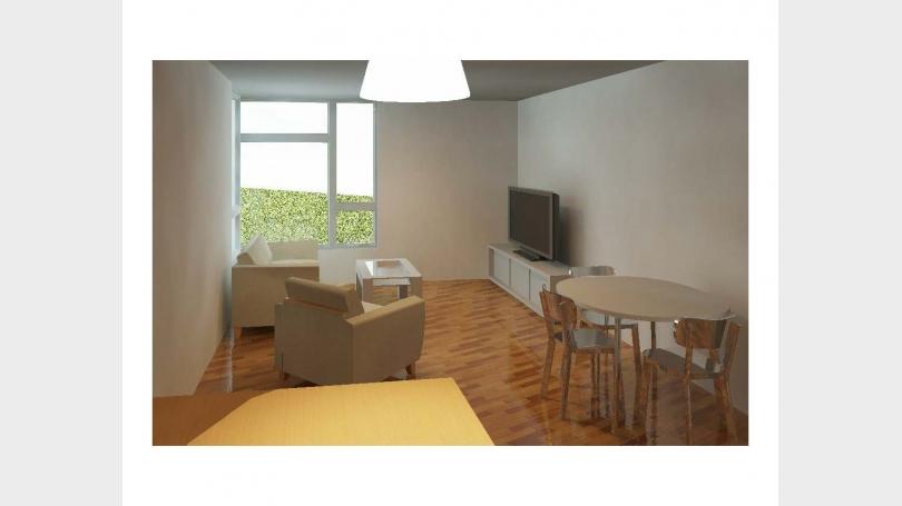 Corner Unit Living Room