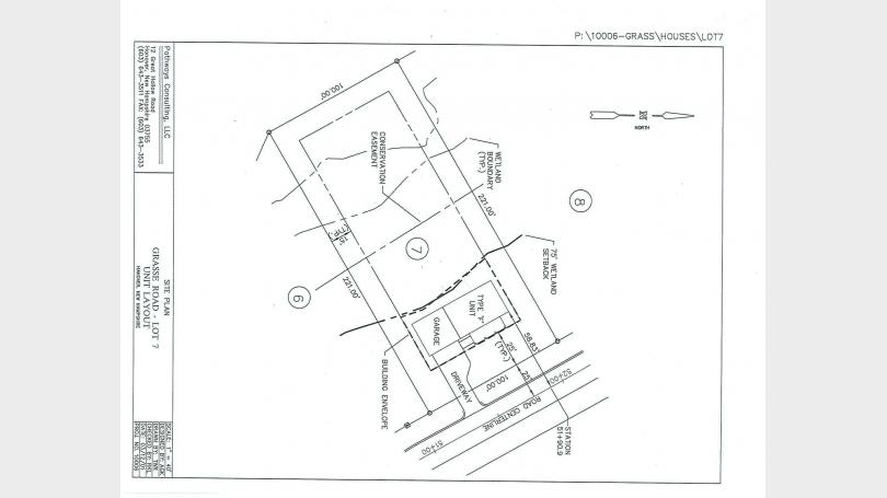 40 Camp Brook Site Plan
