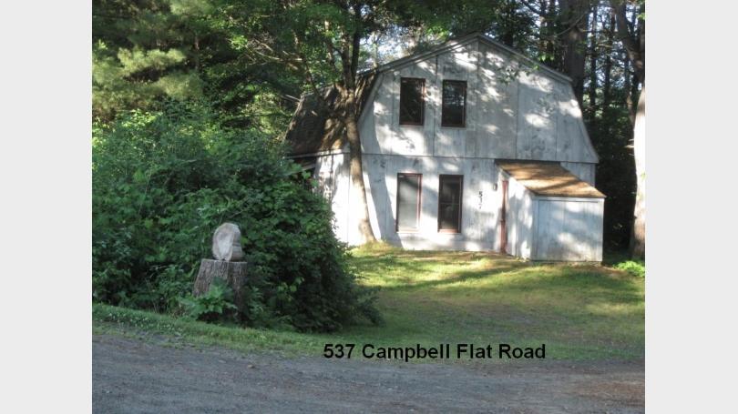 537 Campbell Flat Rd taken at dawn