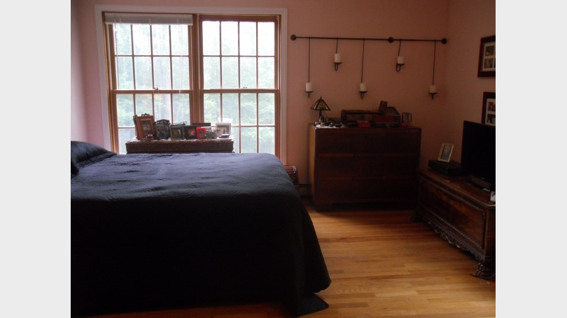 This is a photo of the master bedroom.