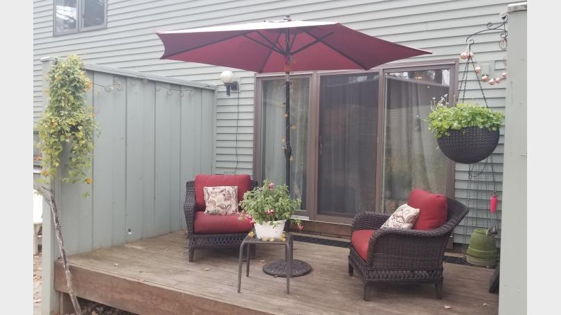 private back deck