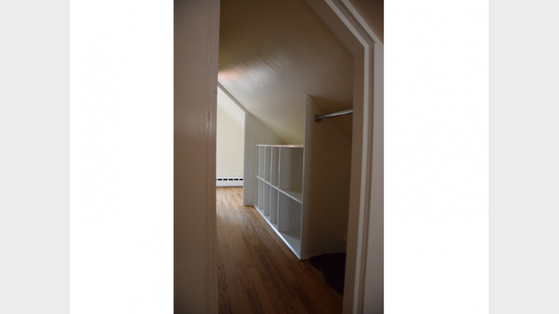 Storage Closet + Small Office Space