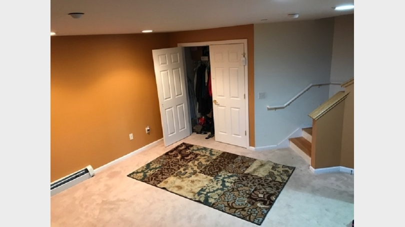 Spacious Family room - attached to garage