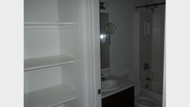 bedroom 1 storage and full bath