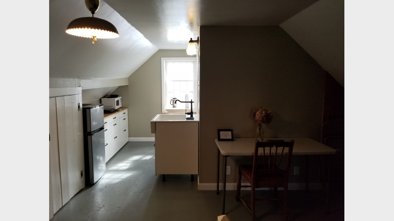 Picture of the kitchenette space of a Month-to-Month space available for rent in Norwich