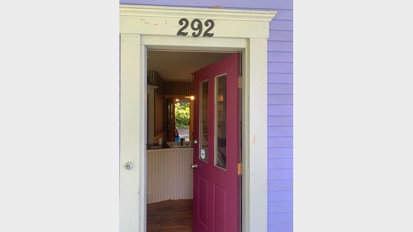 Front Door to Kitchen