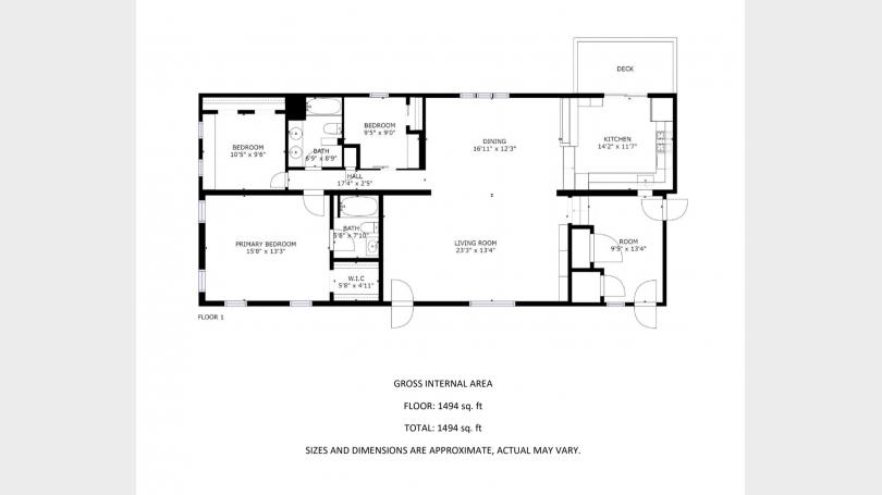 Merrill Brook House Floor Plan