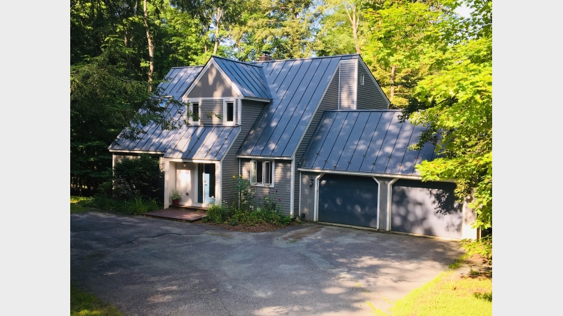 Welcoming curb appeal with two car garage