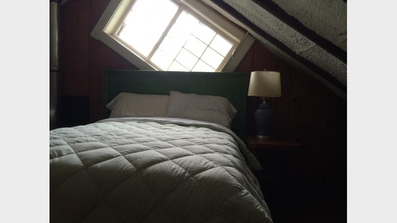 mill loft bedroom