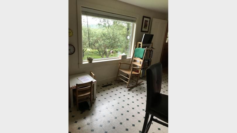 Picture window kitchen
