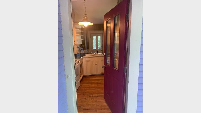 292 Fairview Terrace Unit A Rear Door Entry