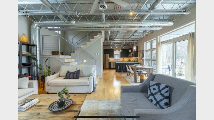Living Room Loft View