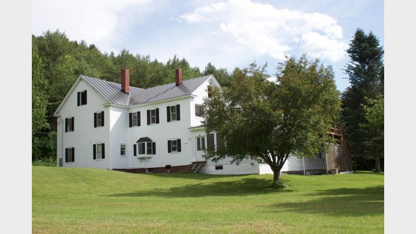 lyme house yard