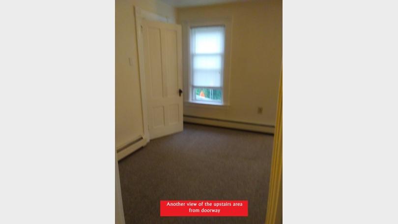 upstairs left of doorway