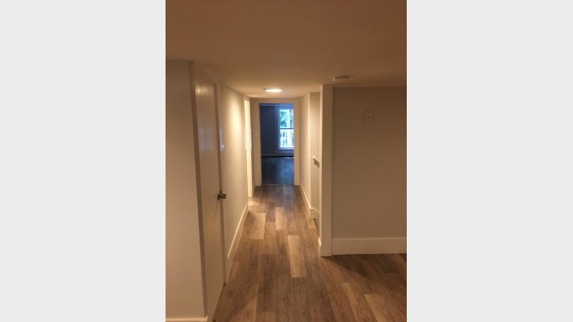 Hallway Kitchen to Bedroom